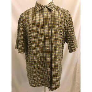 Nautica Wrinkle Resistant Short Sleeve Button Fron